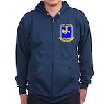 BBDE 6/502nd Infantry Zip Hoodie (dark)