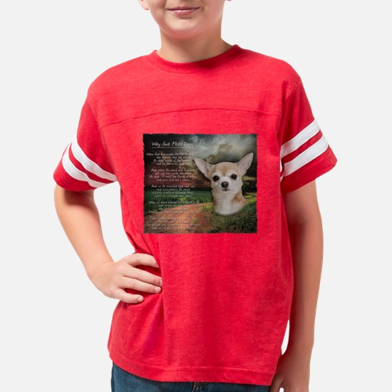 godmadedogs.png Youth Football Shirt
