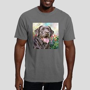 Labrador Painting Mens Comfort Colors Shirt
