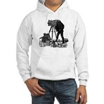 Vintage Photographer Hooded Sweatshirt