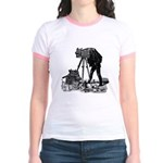Vintage Photographer Jr. Ringer T-Shirt
