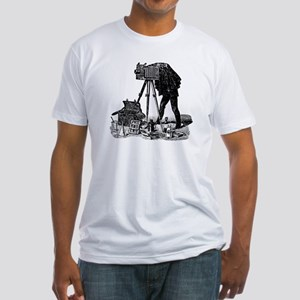 Vintage Photographer Fitted T-Shirt
