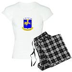 BBDE 6/502nd Infantry Women's Light Pajamas