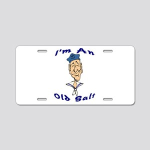 Old Salt Aluminum License Plate