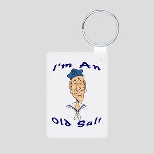 Old Salt Aluminum Photo Keychain
