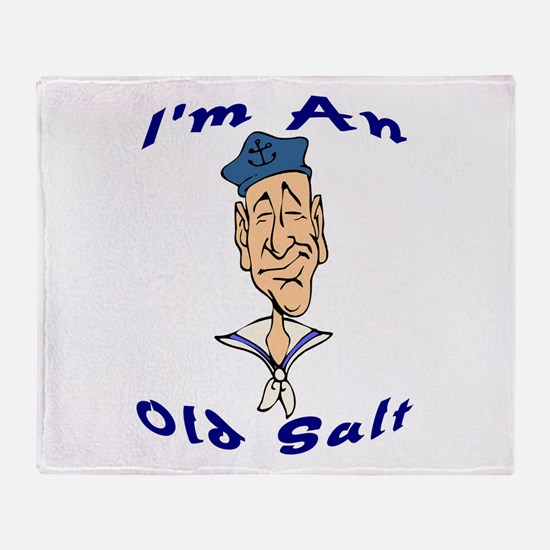Old Salt Throw Blanket