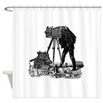 Vintage Photographer Shower Curtain