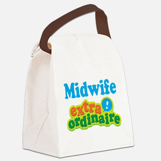 Midwife Extraordinaire Canvas Lunch Bag
