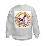 USS LEWIS HANCOCK Kids Sweatshirt