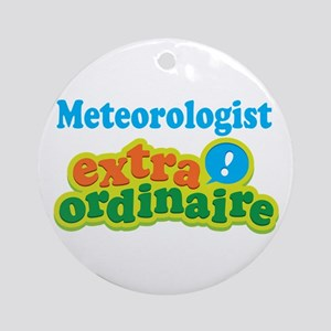 Meteorologist Extraordinaire Ornament (Round)