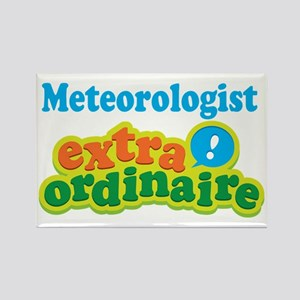 Meteorologist Extraordinaire Rectangle Magnet