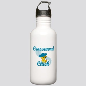 Crossword Chick #3 Stainless Water Bottle 1.0L
