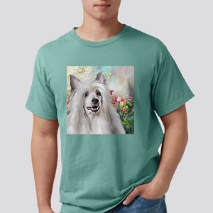 Chinese Crested Painting Mens Comfort Colors Shirt