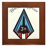 Blackbird Driver Framed Tile