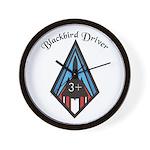 Blackbird Driver Wall Clock