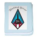 Blackbird Driver baby blanket