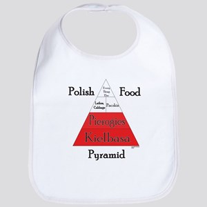 Polish Food Pyramid Bib