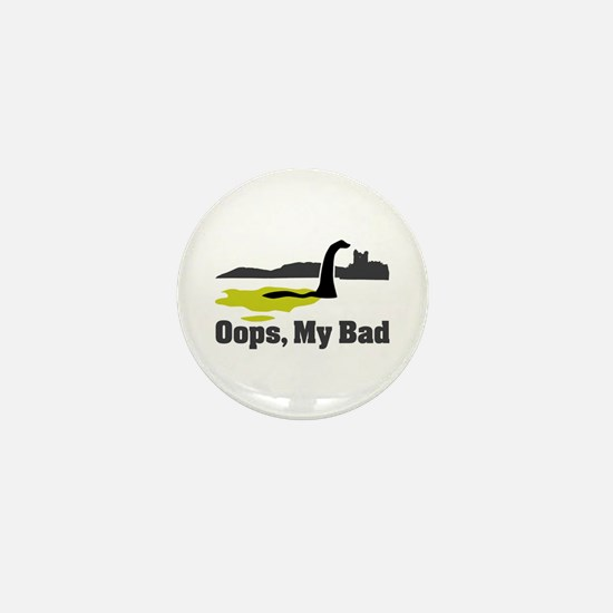 Oops, My Bad Mini Button
