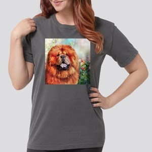 Chow Chow Painting Womens Comfort Colors Shirt