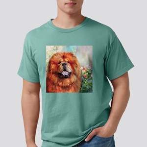 Chow Chow Painting Mens Comfort Colors Shirt