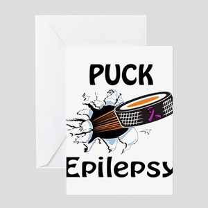 Puck Epilepsy Greeting Card