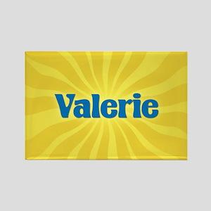 Valerie Sunburst Rectangle Magnet