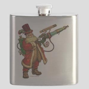 Steampunk Santa Flask