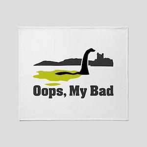 Oops, My Bad Throw Blanket
