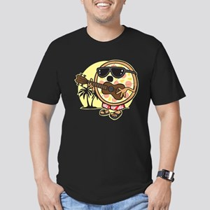 Hawaiian Pizza Men's Fitted T-Shirt (dark)