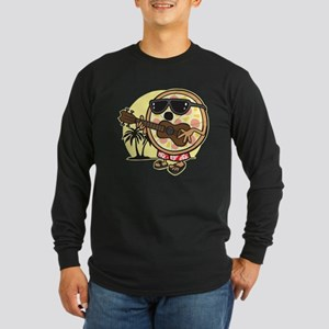 Hawaiian Pizza Long Sleeve Dark T-Shirt