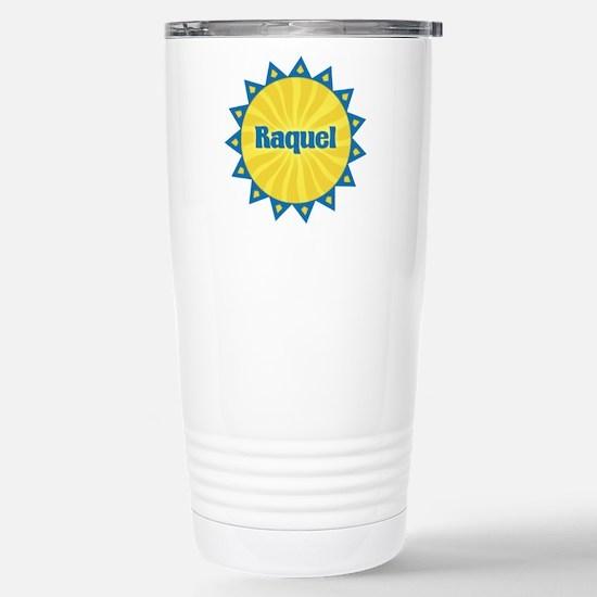 Raquel Sunburst Stainless Steel Travel Mug