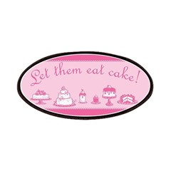 Sweet Pink Let Them Eat Cake Patches