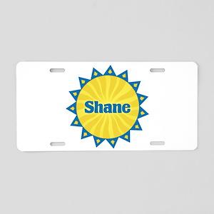 Shane Sunburst Aluminum License Plate