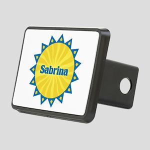 Sabrina Sunburst Rectangular Hitch Cover