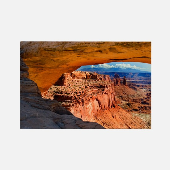 Mesa Arch Rectangle Magnet