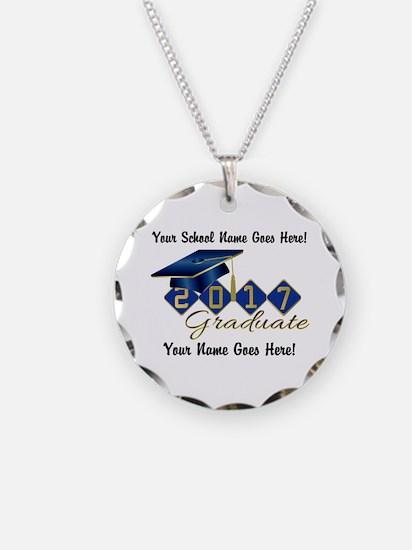 Graduate Blue 2017 Necklace