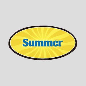 Summer Sunburst Patch