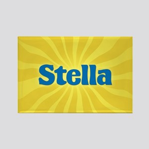 Stella Sunburst Rectangle Magnet