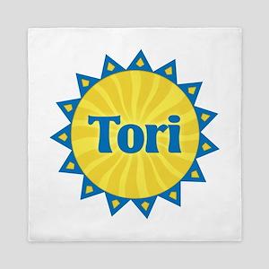 Tori Sunburst Queen Duvet