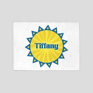 Tiffany Sunburst 5'x7' Area Rug