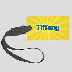 Tiffany Sunburst Large Luggage Tag