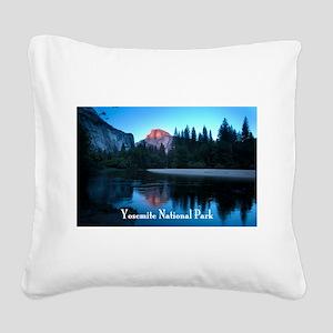 Half Dome sunset in Yosemite National Park Square