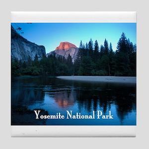 Half Dome sunset in Yosemite National Park Tile Co