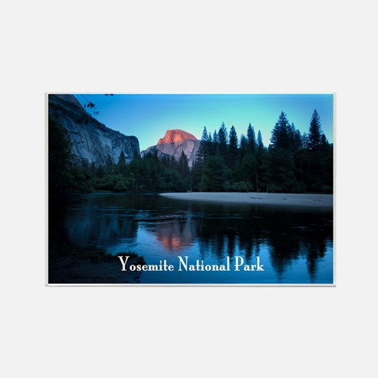 Half Dome sunset in Yosemite National Park Rectang