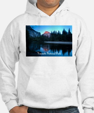 Half Dome sunset in Yosemite National Park Hoodie