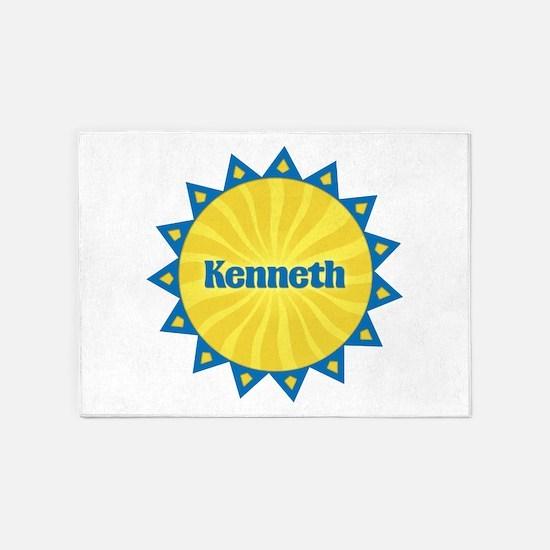 Kenneth Sunburst 5'x7' Area Rug