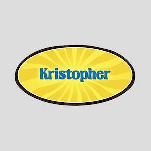 Kristopher Sunburst Patch