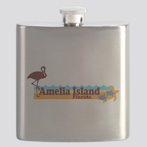 Amelia Island - Beach Design. Flask