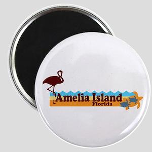 Amelia Island - Beach Design. Magnet