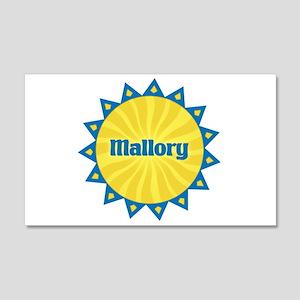 Mallory Sunburst 22x14 Wall Peel